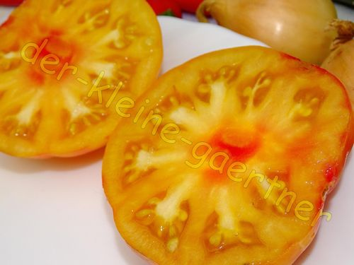 Orange Fleischtomate Big Rainbow 10 Samen